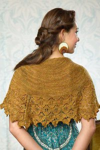 Madelinetosh Tosh Sock Live Oak Shawlette Kit - Scarf and Shawls