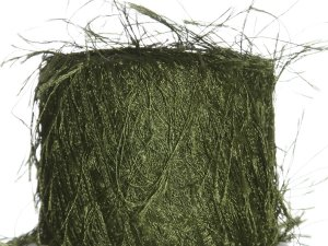 Knitting Fever Flutter Yarn - 41 Olive