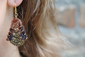 Nelkin Designs Butin Earrings - Bly