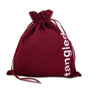 della Q Edict Cotton Pouch (Style 118-2) - Tangled String - Red