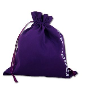della Q Edict Cotton Pouch (Style 118-2) - Random Project - Purple