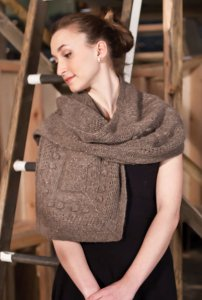 Berroco Flicker Olin Wrap Kit - Scarf and Shawls
