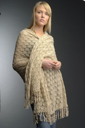 Karabella Cashmere Sunsports Shawl Kit - Women's Accessories