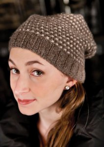 Berroco Flicker Zorina Slouched Hat Kit - Hats and Gloves