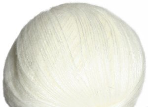 Lana Grossa Lace Lux Yarn - 09 White