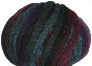 Lana Grossa Big & Easy Colore Yarn - 06 Teal & Burgundy