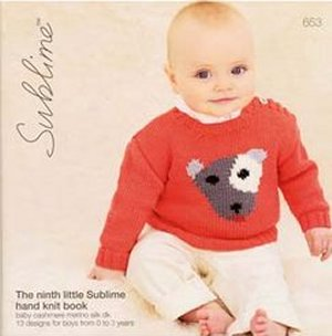 Sublime Books - 653 - The 9th Little Sublime Hand Knit Book