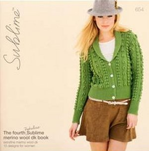 Sublime Books - 654 - The Fourth Fabulous Sublime Merino Wool DK Book
