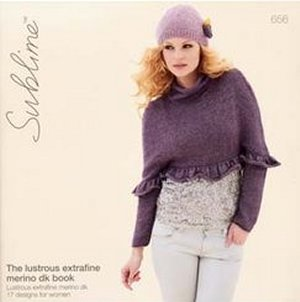 Sublime Books - 656 - The Lustrous ExtraFine Merino DK Book photo