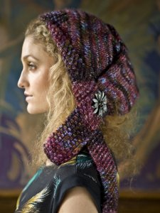Berroco Borealis Outre Kerchief Kit - Hats and Gloves