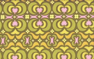 Amy Butler Midwest Modern Fabric - Garden Maze - Olive