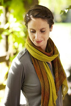 Churchmouse Classics Patterns - Bias Before & After Scarf Pattern