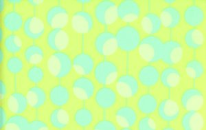 Amy Butler Midwest Modern Fabric - Martini - Lime