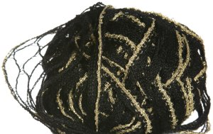 Filatura Di Crosa Moda Lame Yarn - 08 Onyx/Gold