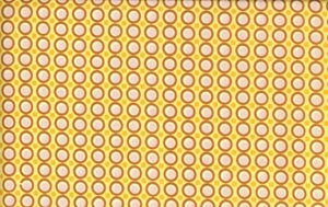 Amy Butler Midwest Modern Fabric - Happy Dots - Apricot