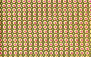 Amy Butler Midwest Modern Fabric - Happy Dots - Grey