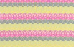 Amy Butler Midwest Modern Fabric - Ripple Stripe - Grey