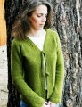 Knitting Pure and Simple Women's Cardigan Patterns - 0241 - Neckdown V Neck Shaped Cardigan