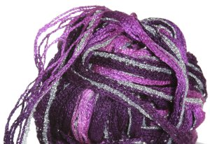 Filatura Di Crosa Moda Lame Yarn - 02 Orchids/Silver (Discontinued)