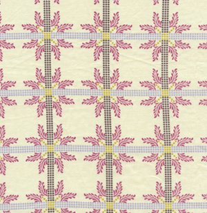 Anna Maria Horner Little Folks Voile Fabric - Four Square - Lilac