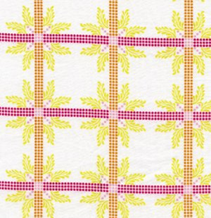 Anna Maria Horner Little Folks Voile Fabric - Four Square - Sweet