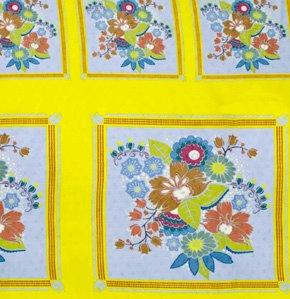Anna Maria Horner Little Folks Square Dance Panel Fabric - Citrus Panel