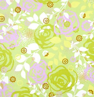 Erin McMorris Weekends Fabric - Saturday - Grass