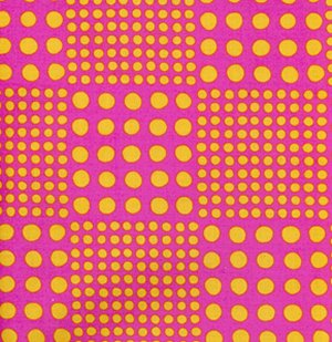 Erin McMorris Wildwood Fabric - Check-A-Dot - Fuchsia