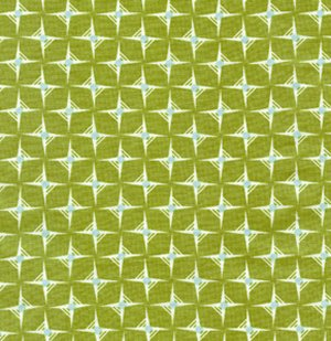 Heather Bailey Nicey Jane Fabric - Hop Dot - Olive
