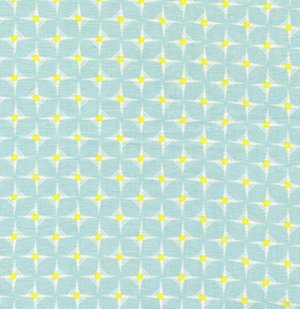 Heather Bailey Nicey Jane Fabric - Hop Dot - Sky