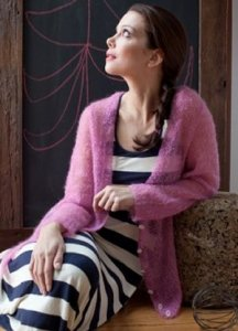 Be Sweet Extra Fine Mohair Wanderlust Cardigan Kit - Women's Cardigans
