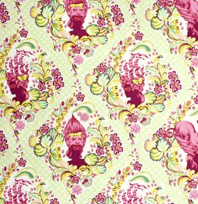 Tula Pink Parisville Fabric - Cameo - Sprout