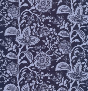 Tula Pink Parisville Fabric - French Lace - Dusk