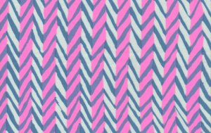 Brandon Mably Herringbone Fabric - White