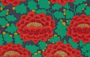 Kaffe Fassett Frilly Fabric - Orange