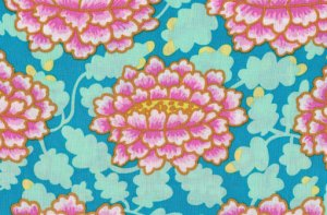 Kaffe Fassett Frilly Fabric - Pink