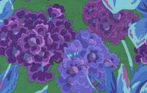 Philip Jacobs Primula Fabric - Blue
