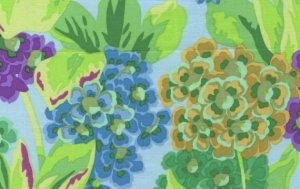 Philip Jacobs Primula Fabric - Green
