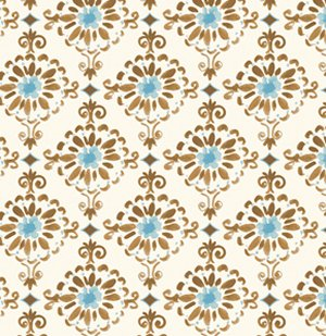 Dena Designs London Fabric - Cotswold - Blue