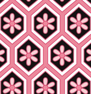 Dena Designs London Fabric - Lindsey - Pink
