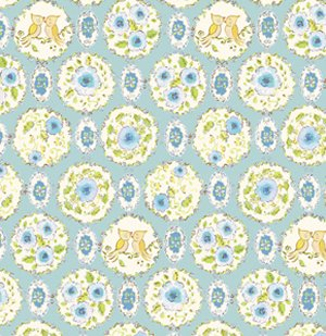 Dena Designs London Fabric - Brighton - Blue