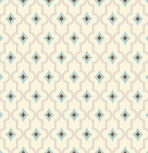 Dena Designs London Fabric - Wakefield - Blue