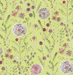 Dena Designs London Fabric - Somerset - Green