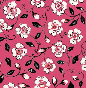 Dena Designs London Fabric - Canterbury - Pink