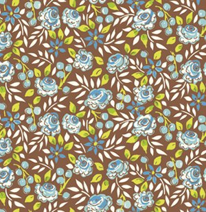 Dena Designs London Fabric - Surrey - Blue
