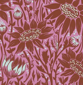 Anna Maria Horner Loulouthi Flannel Fabric - Coreopsis - Tangy