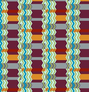 Anna Maria Horner Loulouthi Flannel Fabric - Zag Zig - Eggplant