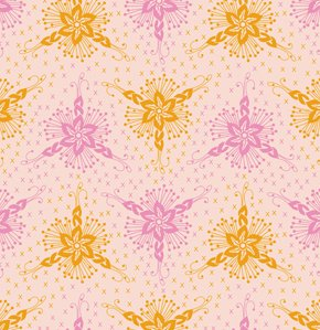 Anna Maria Horner Loulouthi Flannel Fabric - Triflora - Bubblegum