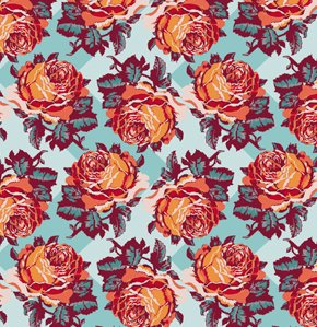 Anna Maria Horner Loulouthi Flannel Fabric - Rosepatch - Breakfast