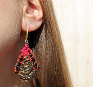Nelkin Designs Butin Earrings - Rosa Parks